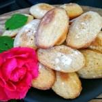 Franse schelpvormige cakejes