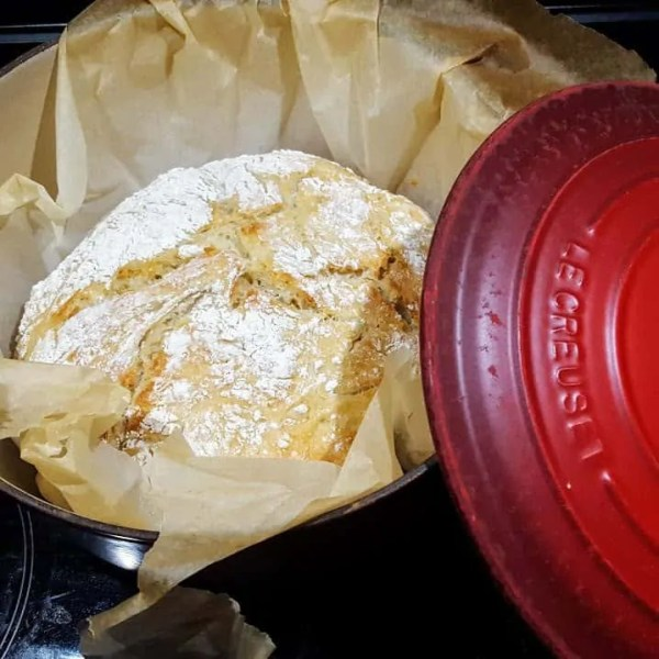 Homemade brood dat je niet hoeft te kneden, het kan!