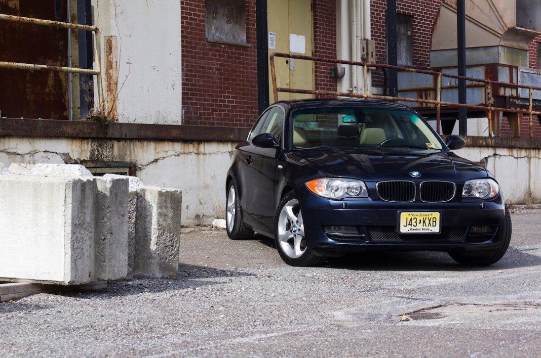 BMW 128i front passenger