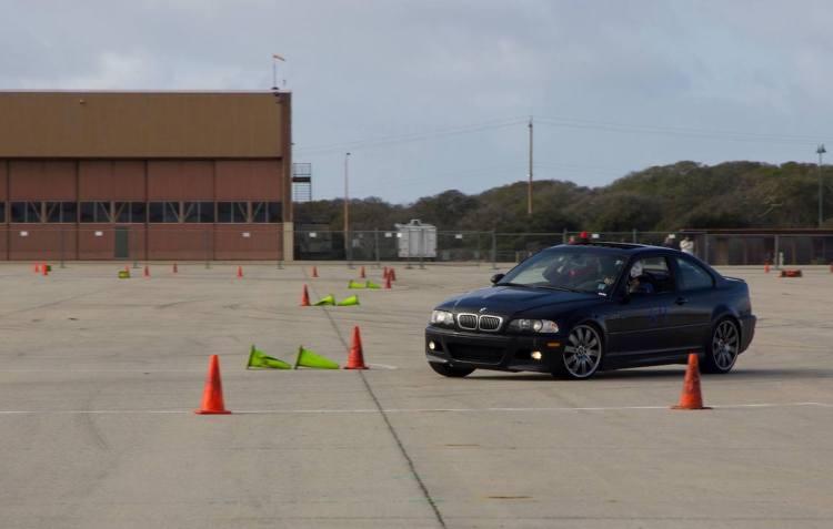 E46 M3 autocrossing