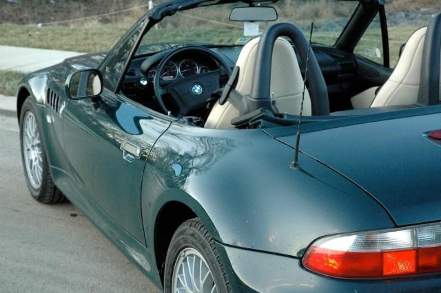 1999 BMW Z3 roadster left rear