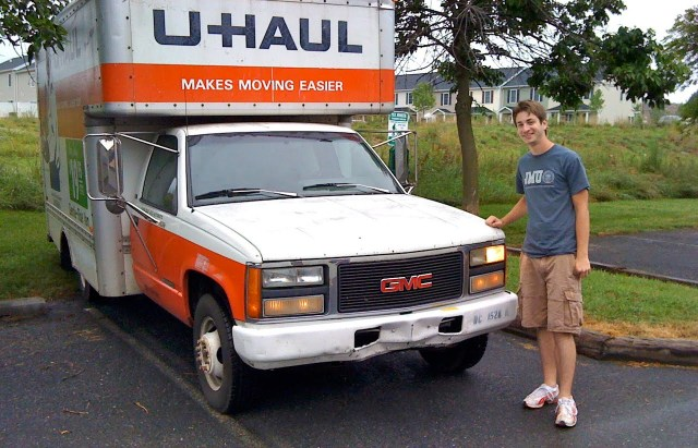 Old GMC 17' U-Haul