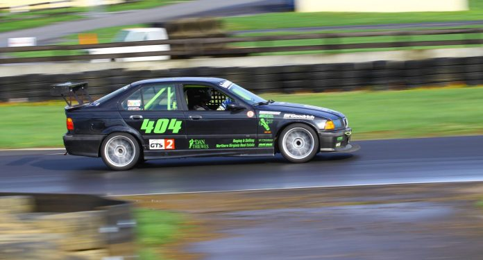 Jake racing at Summit Point