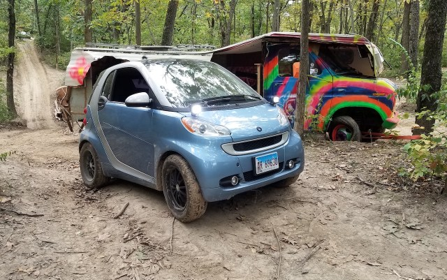 Smart Fortwo offroad at Gambler 500