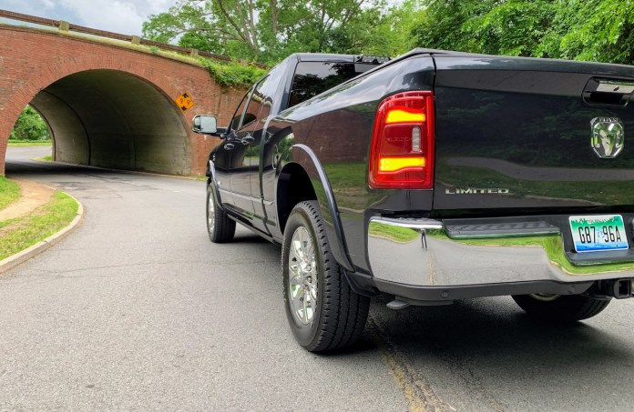 2019 Ram 2500 Limited rear