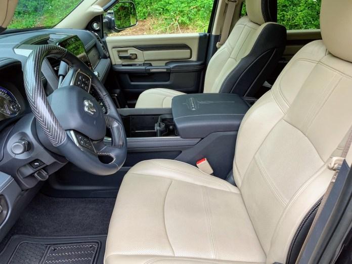 2019 Ram 2500 Limited indigo frost interior