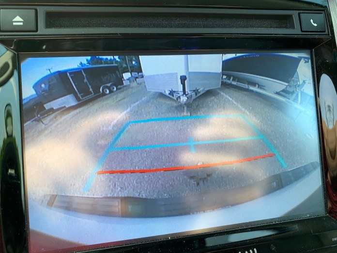 2019 Toyota Tundra backup camera