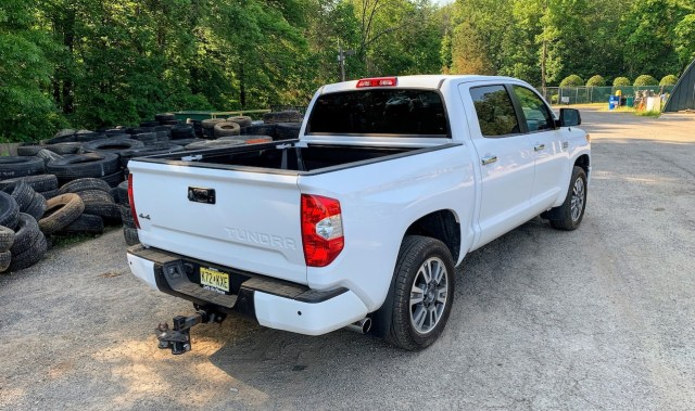 2019 Toyota Tundra Platinum rear right