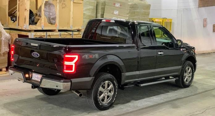 2019 Ford F-150 XLT rear right