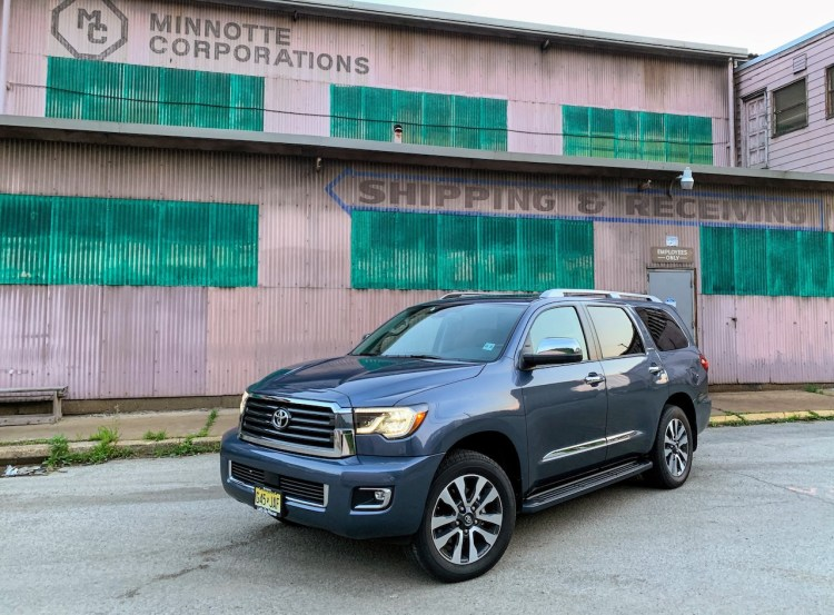 Toyota Sequoia Towing Capacity >> Tows Great Less Ful Filling 2019 Toyota Sequoia Limited