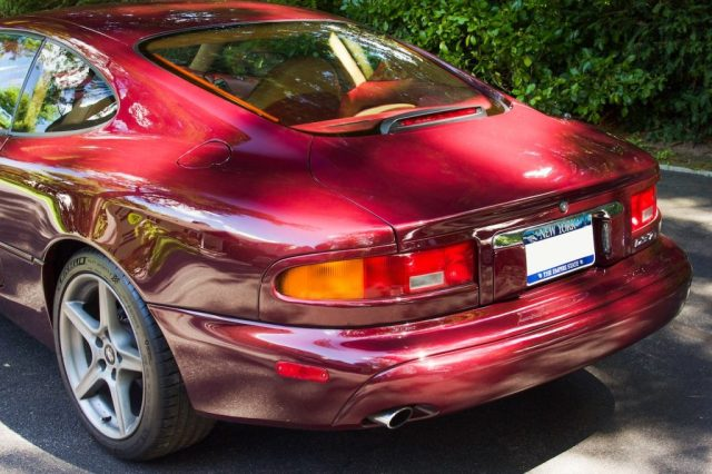 Aston Martin DB7 rear left