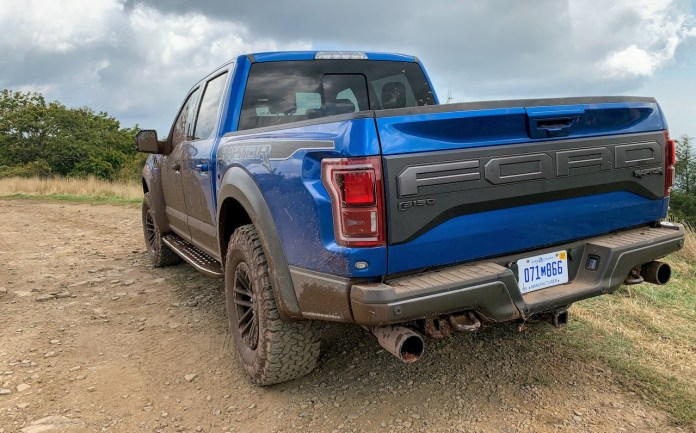 F150 Raptor off-road
