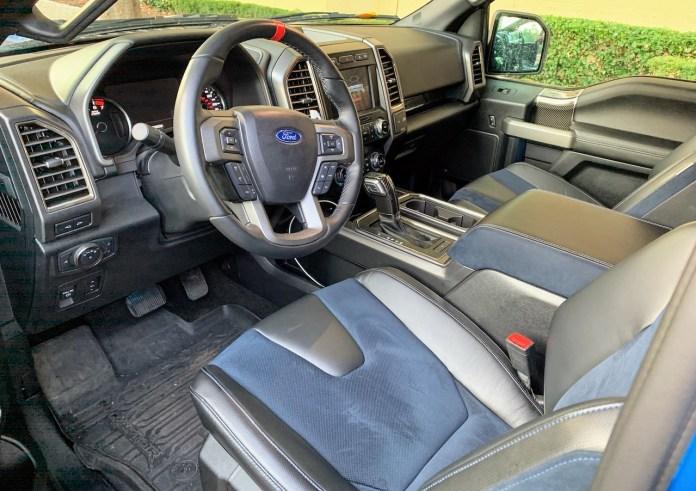 F150 Raptor Recaro seats