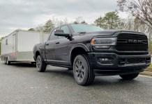 2020 Ram 2500 enclosed trailer