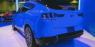 Mustang Mach-E rear