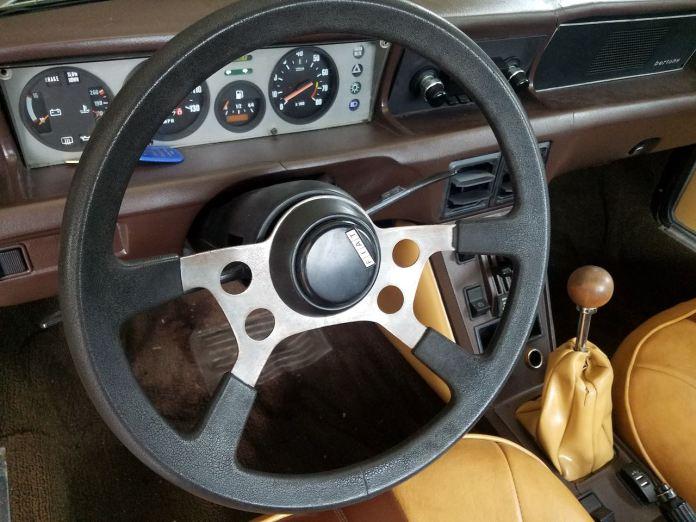 Fiat X1/9 steering wheel