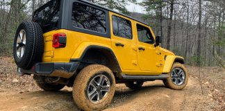 Jeep Wrangler EcoDiesel off-road