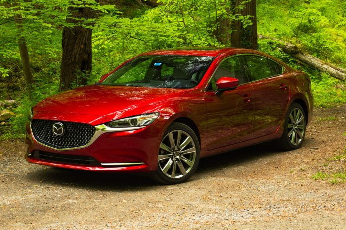 2020 Mazda6 Signature Turbo red