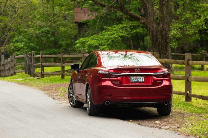 2020 Mazda6 Signature rear