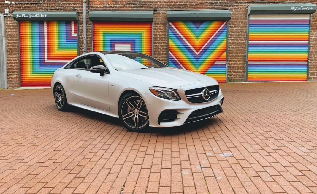 E53 AMG coupe Blagden Alley