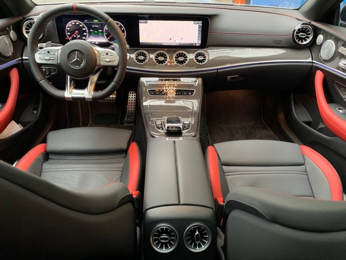 E53 AMG coupe interior