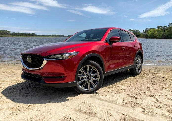 2020 Mazda CX-5 Signature front