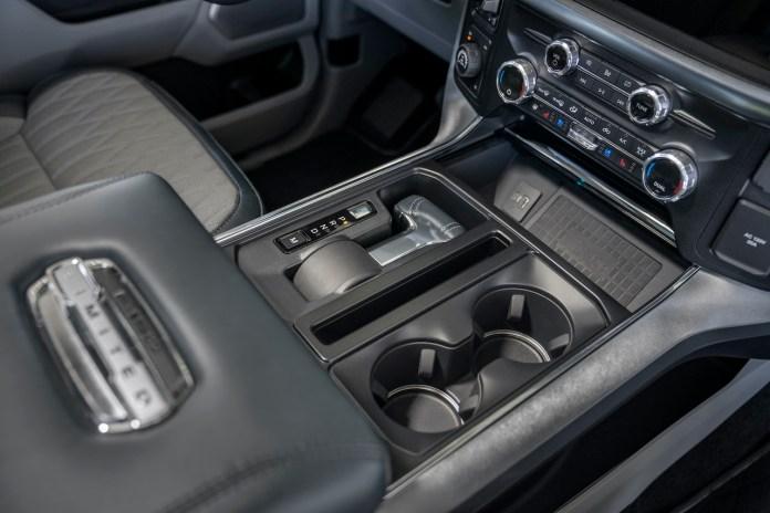 2021 Ford F-150 folding shifter