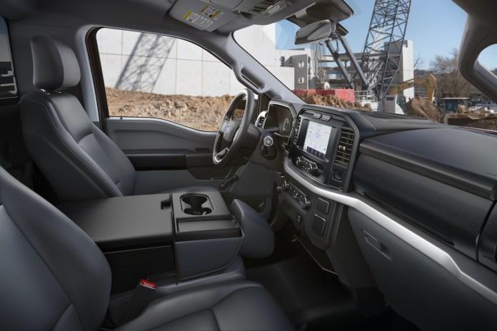2021 Ford F-150 XLT Interior