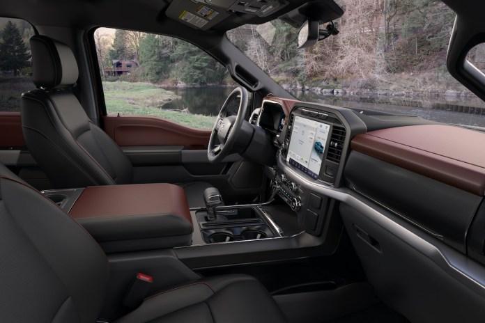 2021 Ford F-150 Lariat Sport interior