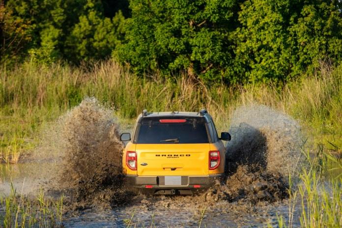 2021 Ford Bronco Sport Cyber Orange