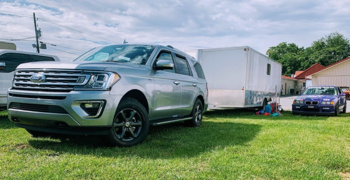 2020 Ford Expedition FX4 towing