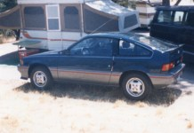 1985 Honda CRX Si Baltic Blue