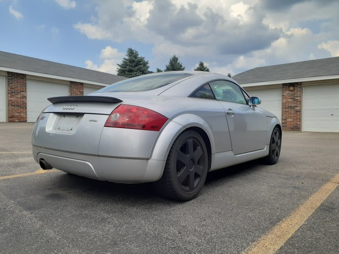 Mk1 Audi TT silver