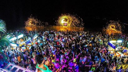 koh-samui-ark-bar-at-nght