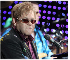 Elton John visits PM to discuss HIV