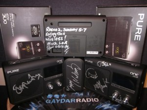 GaydarRadio to auction digital radios signed by the stars for World AIDS Day
