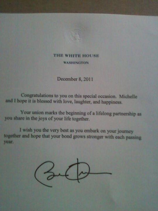 Obama_Letter_Newlyweds