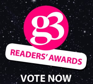 g3/Out In The City Readers' Awards