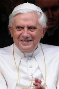 The Pope says gay marriage threatens future of humanity.