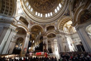 New dean of St Paul's says marriage doesn't belong to the Church