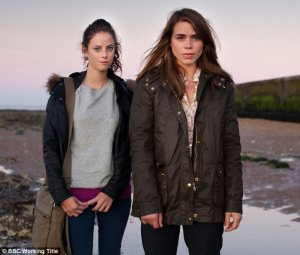 Billie Piper shares lesbian kiss in new drama