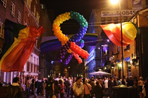 Manchester Pride goers send messages of support to gay people in St Petersburg