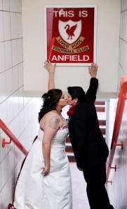 Homophobia in sport? Not at Anfield