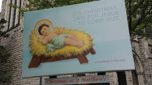 New Zealand Church causes controversy over Christmas advert