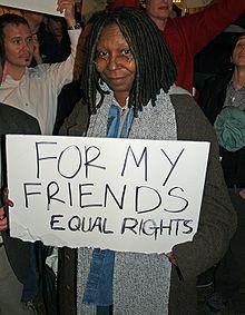 Whoopi Goldberg to receive LGBT Human Rights award
