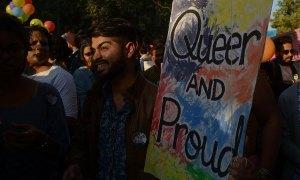 Pride Hits New Delhi's streets