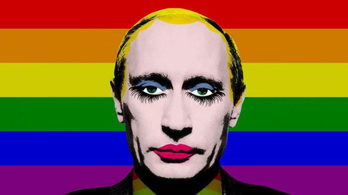 Vladimir Putin Homophobic