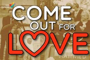 Tomorrow Is Valentine's Day and ILGA-Europe Want You To Come Out for Love