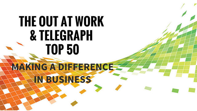 Out at Work Top 50 & The Telegraph
