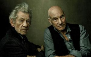 Ian McKellen and Patrick Stewart reunite for UK tour of No Man's Land